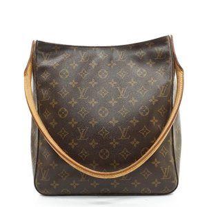 Auth Louis Vuitton Looping Gm Shoulder #12055L54B